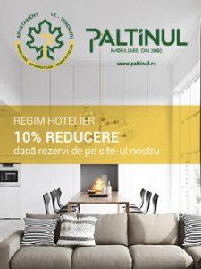 Regim Hotelier - Paltinul - Oferta