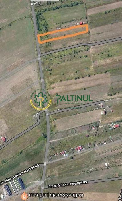 Land 3,533sqm Cisnadie / Strada Sibiului