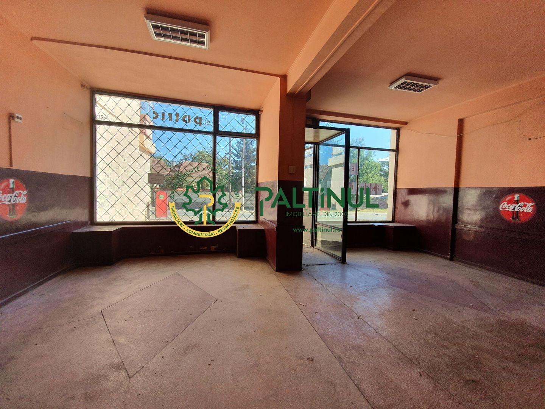 Spatiu comercial, 86 mp, vitrina la strada, Turnisor
