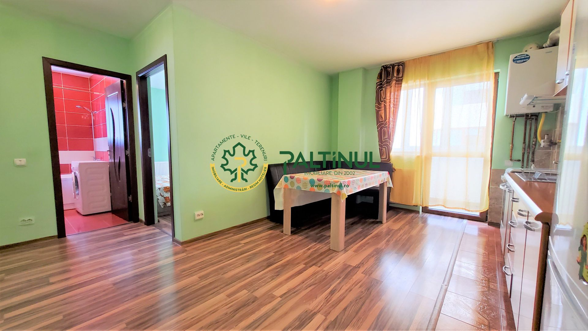 Apartament 2 camere cu balcon si loc de parcare zona D-na Stanca