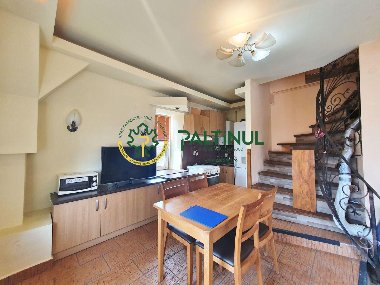 Apartament la mansarda, zona Terezian