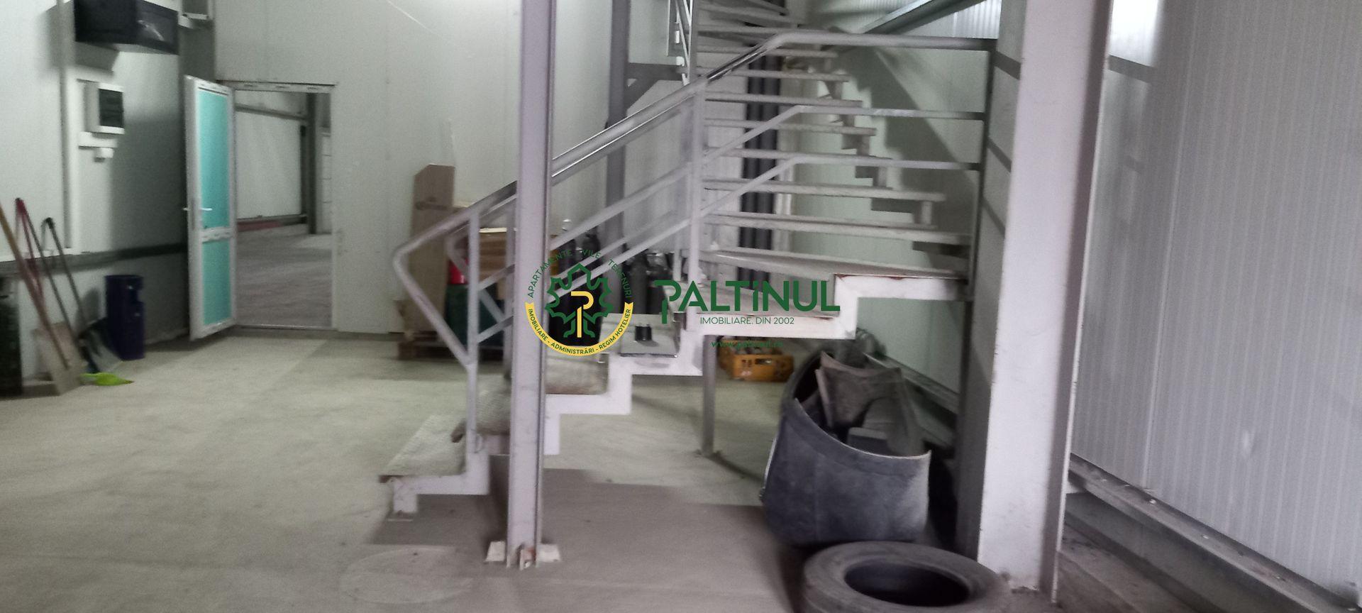 Hala, spatii de depozitare si birouri, zona Compa – Lazaret