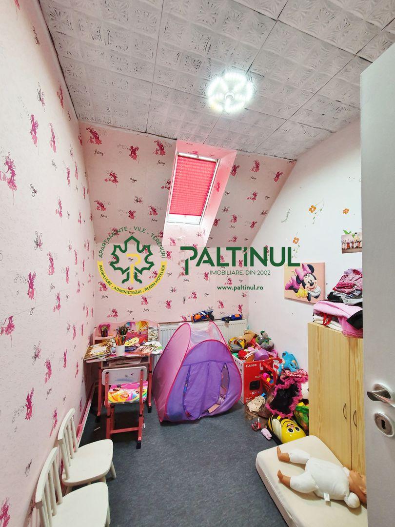 Apartament 4 camere si casa, zona Turnisor